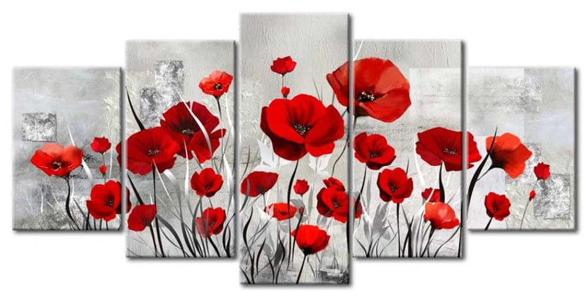 Những Cánh Hoa Poppy M016