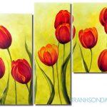Sắc Hoa Tulip M014