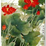 Hoa Sen Khoe Sắc M636