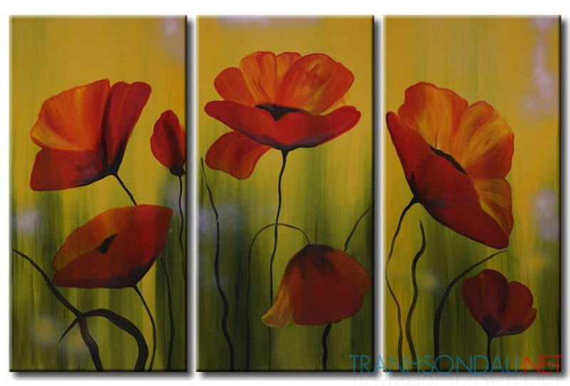 Những Cánh Hoa Poppy M528
