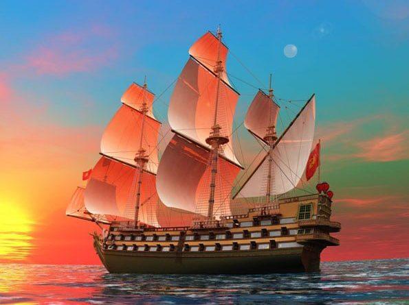 Ý nghĩa tranh thuận buồm xuôi gió theo phong thủy