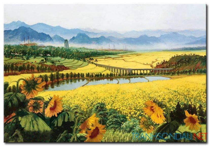 Cánh Đồng Hoa Hướng Dướng M1091