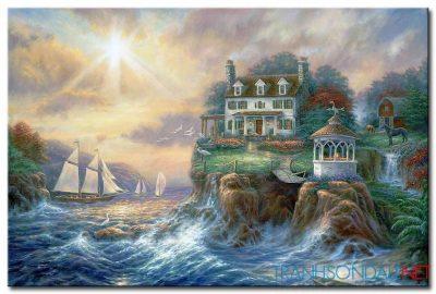 Ngôi Nhà Bên Bờ Biển M1099