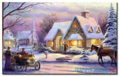 Những Ngôi Nhà Phủ Tuyết M1164