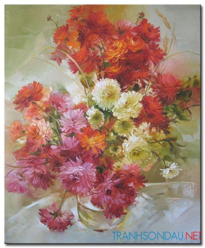 Hoa Cúc Khoe Sắc M795