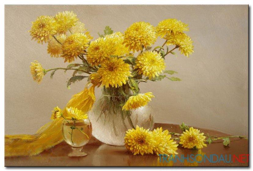 Hoa Cúc Vàng M816