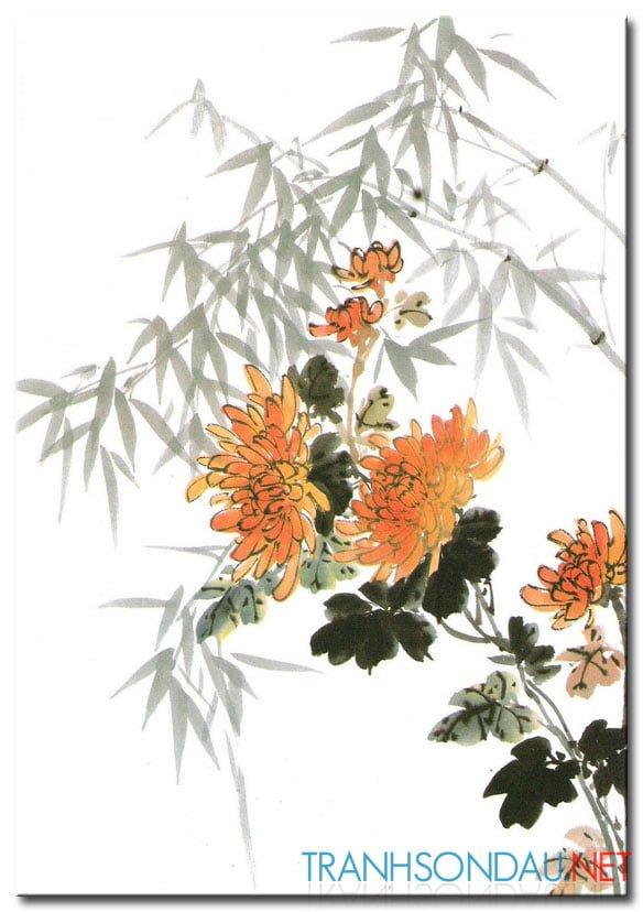 Hoa Cúc Khoe Sắc M849