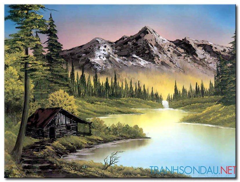 Ngôi Nhà Tranh Dưới Chân Núi M1001