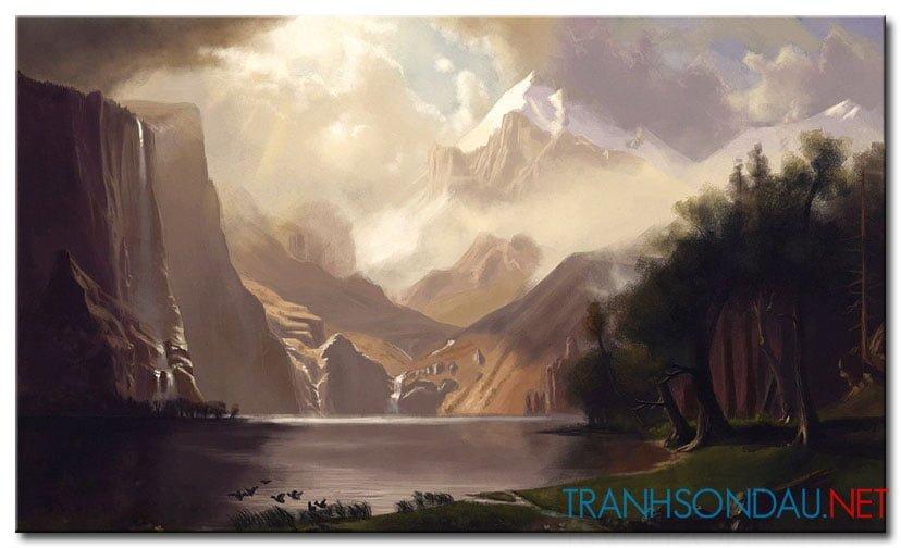 Phong Cảnh Đồi Núi M1003