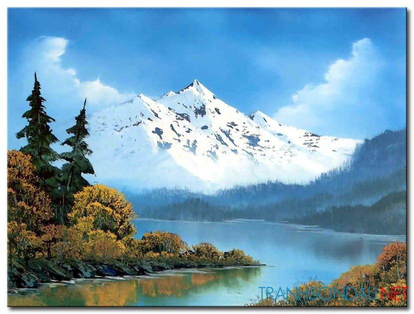 Phong Cảnh Núi Tuyết M1009