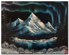 Phong Cảnh Núi Tuyết M1023
