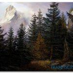 Phong Cảnh Rừng Núi M1025