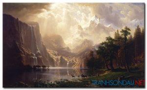 Phong Cảnh Đồi Núi Hùng Vĩ M980