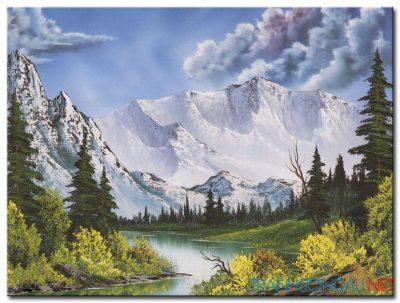 Phong Cảnh Núi Tuyết M982