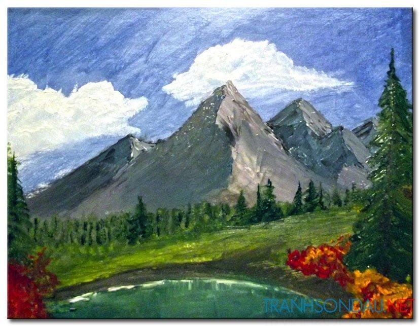 Phong Cảnh Rừng Núi M984