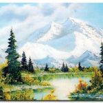 Phong Cảnh Núi Tuyết M985