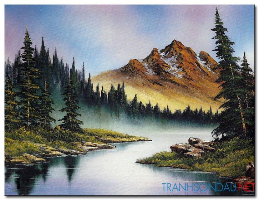 Rừng Lá Kim Và Ngọn Núi Cao M997