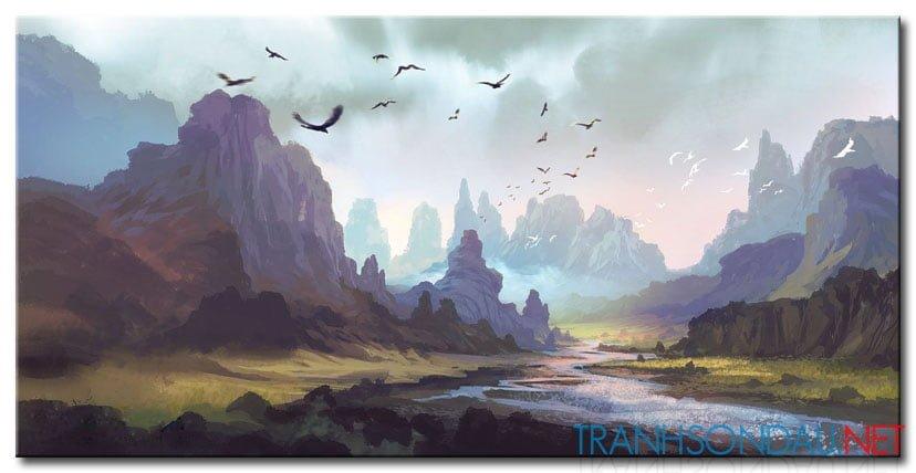 Phong Cảnh Đồi Núi M933