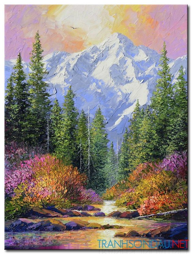 Tranh Núi Rừng M934