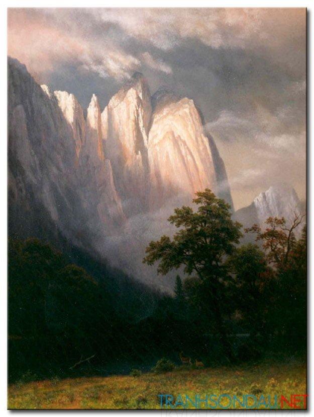 Tranh Ngọn Núi Trắng M939