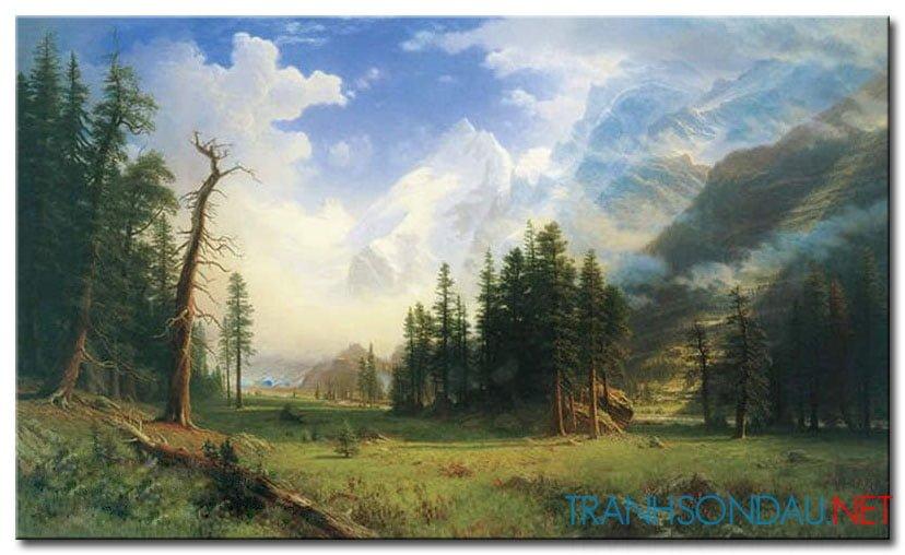 Phong Cảnh Rừng Núi M946