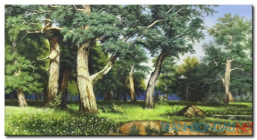 Phong Cảnh Rừng Cây M958