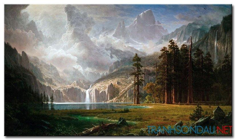 Phong Cảnh Rừng Núi Hùng Vĩ M960