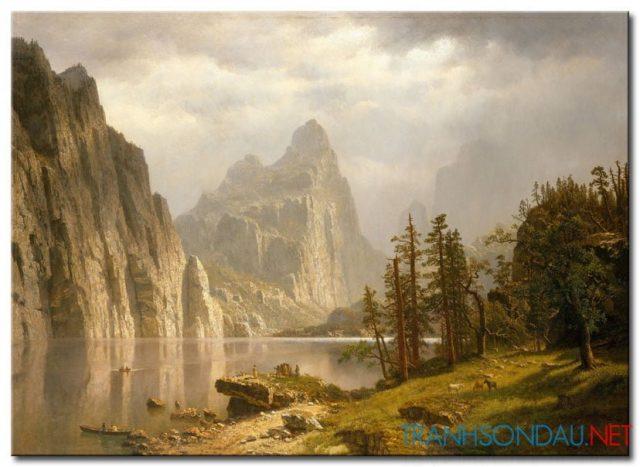 Phong Cảnh Đồi Núi Hùng Vỹ M968