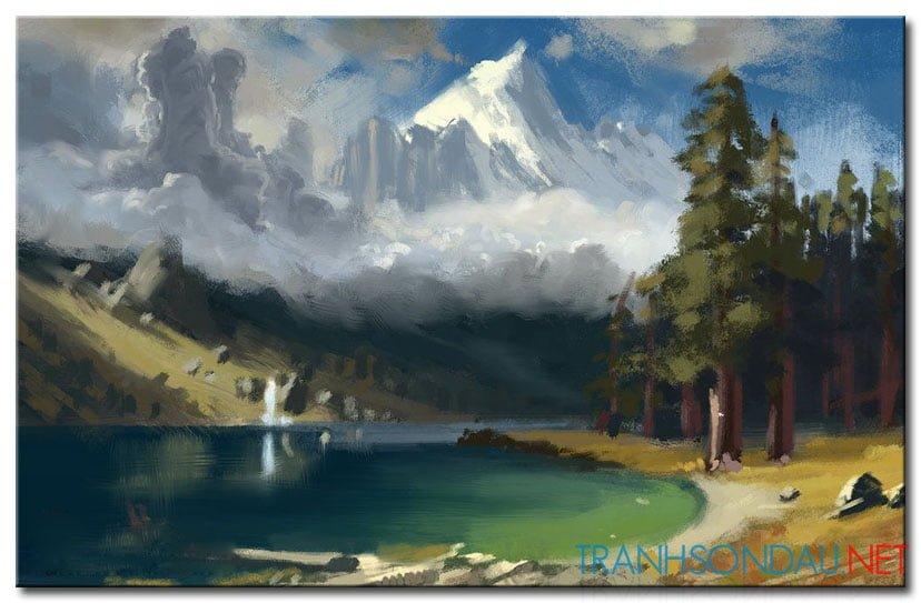 Phong Cảnh Rừng Núi M973