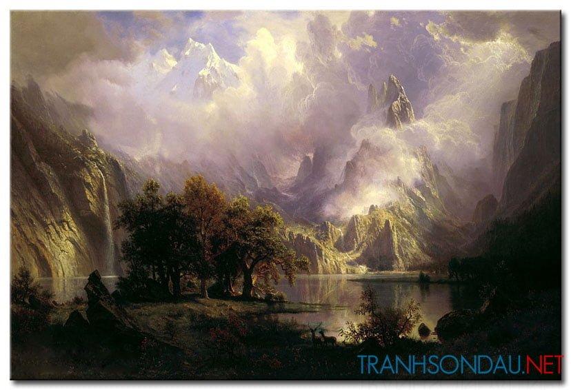 Phong Cảnh Đồi Núi Hùng Vỹ M975