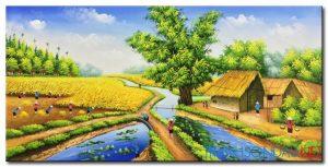 Phong Cảnh Mùa Gặt M1500