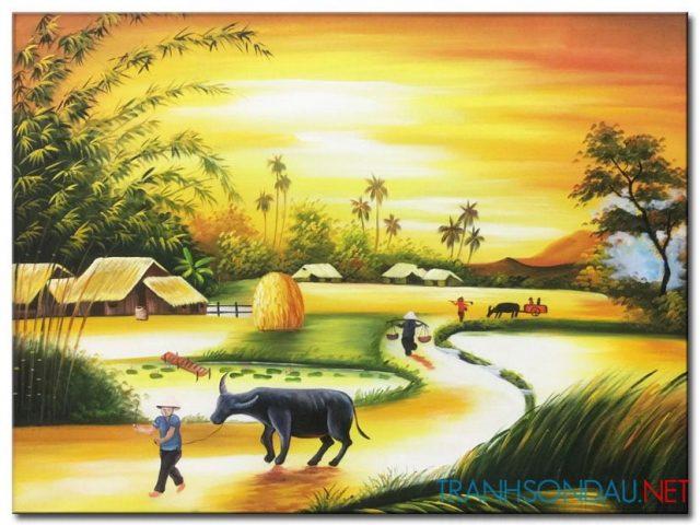 Phong Cảnh Quê Hương M1506
