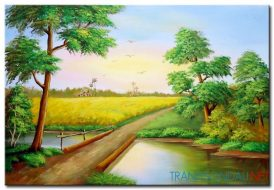 Phong Cảnh Cánh Đồng M1508
