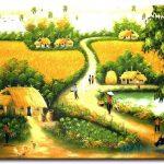 Phong Cảnh Đồng Quê M1518