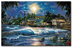 Biển Đêm M1778