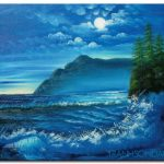 Biển Đêm M1782