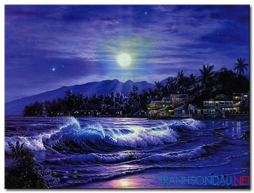 Biển Đêm M1784