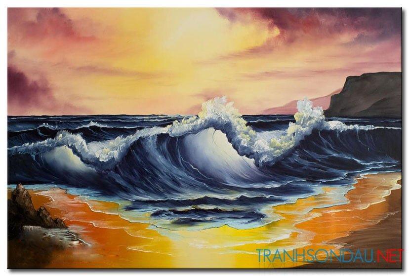 Phong Cảnh Bờ Biển M1786