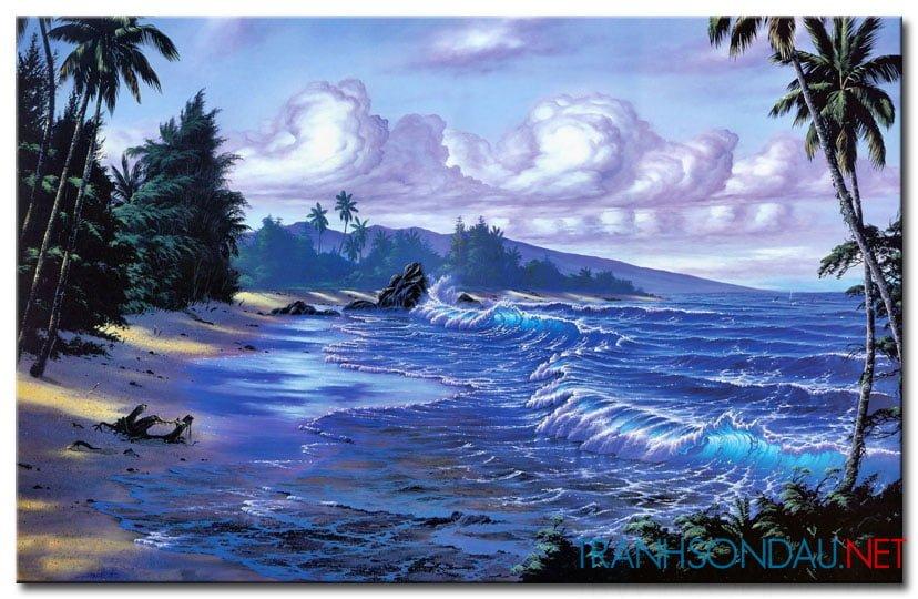 Phong Cảnh Bờ Biển M1794