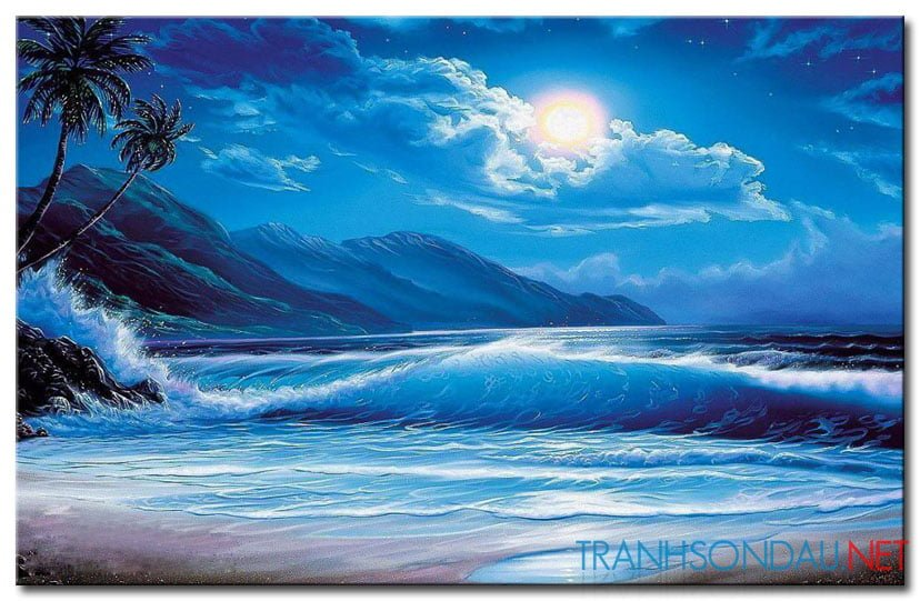 Biển Đêm M1795Biển Đêm M1795