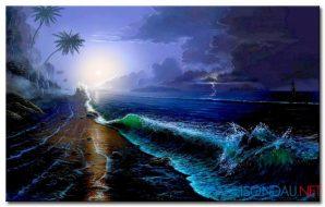 Biển Đêm M1800