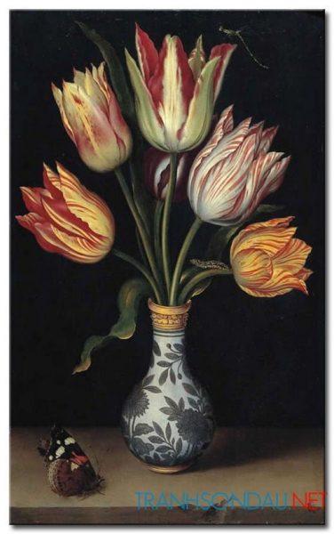 Bình Hoa Tulip Khoe Sắc M1259