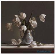 Bình Hoa Tulip Khoe Sắc M1263