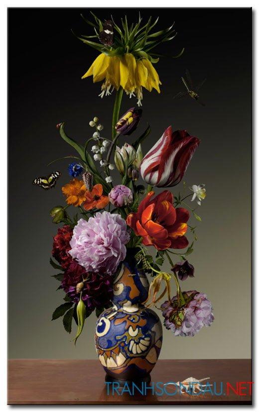 Bình Hoa Tulip Khoe Sắc M1264