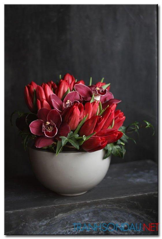 Hoa Tulip Đỏ M1265
