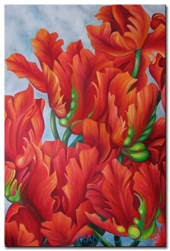 Những Cánh Hoa Khoe Sắc M1299