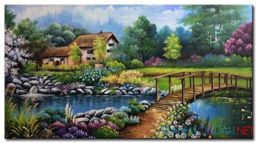 Phong Cảnh Mùa Xuân M1870