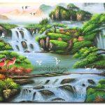 Tranh Sơn Thủy M2126