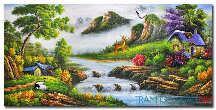 Tranh Phong Cảnh M2134