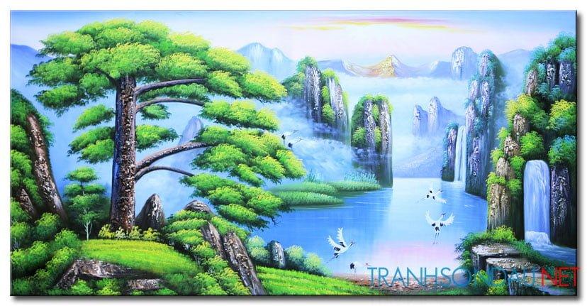 Tranh Sơn Thủy M2146